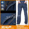 Джинсыы Workwear джинсовой ткани людей длинние помытые