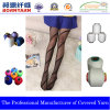 Hilado del Spandex de la cubierta del poliester para la calcetería por Qingdao Bornyarn