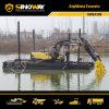 Hydraulic Spud Pileの泥地か沼地Excavator