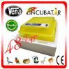 Incubadora automática cheia aprovada do ovo da galinha do CE de 48 ovos da galinha para a venda