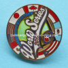 Glow in The Pin Badge scuro con frizione (Ele-P037)