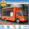 6 vehículo publicitario móvil de las ruedas JAC con la pantalla colorida del LED