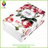 きれいな花の印刷の折るボール紙の化粧品ボックス