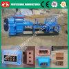 Pequena máquina de fabricação de tijolos vermelhos sem vácuo (0086 15038222403)