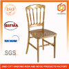 Ouro Resin Napoleon Chair para Wedding Event