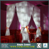 Tubo 2015 y Drape Wedding Tent con Chiffon Velvet