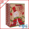 Brown Kraft Christmas Gift Paper Bags con Stamping e Hang Tag