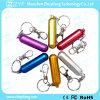 통과하십시오 H2 시험한 실린더 금속 Keychain USB 섬광 드라이브 (ZYF1143)를