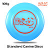 Disc Dogs Canine Discのための専門のDisc Frisbee