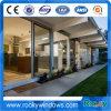 Ventana de aluminio ahorro de energía de la rotura termal/puertas exteriores usadas para la venta
