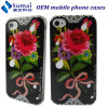 AppleのiPhone 4 (場合)のための優雅な花の設計携帯電話の箱(SM-I4)