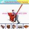 Bloc manuel de l'argile Qmr2-40 faisant la machine