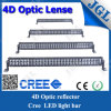 4D 288W Optic Reflector Lenses LED Light Bar