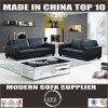 Noir réglé Lz888b du sofa 2+3 en cuir moderne
