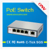 5 порт 10/100m 802.3at Poe Switch с 4 Port Poe