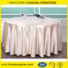 круглый бегунок таблицы крышки таблицы скатерти сатинировки полиэфира венчания 120