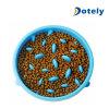 Tazón de fuente sano del alimento del alimentador del pequeño del pienso del envase almacenaje lento del plato
