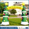 Раздувные гигантские орнаменты рождества, раздувной свод рождества для сбывания