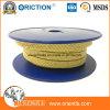 Joint de cheminée de soupape d'emballage de la fibre acrylique PTFE de presse-étoupe d'emballage