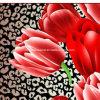 100%Polyester 3D Zerstreung druckte Gewebe für Bettwäsche-Set