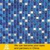 파란 색깔 혼합 수정같은 유리 모자이크 01