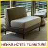 Assento de madeira da cabine da sala de estar da mobília Relaxing antiga do sofá