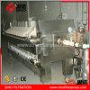 Prensa de filtro de descarga manual de membrana de China para el tratamiento de aguas residuales