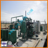 Usine noire de technologie de distillation de pétrole de rebut, matériel de régénération de pétrole