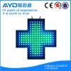 Muestra cruzada de la protección del medio ambiente LED de Hidly Green&Blue