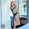 Albornoz de mirada del nuevo diseño Niza, albornoz del algodón de las mujeres
