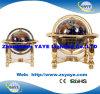 Yaye 18の最もよい販売法の4脚の金属の立場330mm/220mm/150mmの宝石用原石の地球/世界の地球