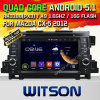 Witson Android 5.1 Car DVD für Mazda Cx-5 2012 (W2-A7005) mit Chipset 1080P 8g Internet DVR Support ROM-WiFi 3G