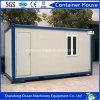 Aprontar barato a casa pré-fabricada expansível feita do recipiente do bloco liso para o recipiente Domitory do escritório e o acampamento