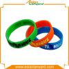 Bracelet personnalisé de silicones de qualité