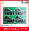 Elektronische einzelne seitliche Asic Bergmann Schaltkarte-Vorstand-Mikrowellenherd gedruckte Schaltkarte