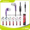 De hete Oortelefoon van de Microfoon van de Oortelefoon van de Telefoon van de Verkoop Purpere Mobiele MP3