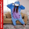 Pijamas animales de Onesie de la historieta del pequeño burro unisex