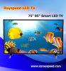 Prix en gros sec de vente chaud de TÉLÉVISEUR LCD d'écran de TÉLÉVISEUR LCD de rechange de 75/85 pouce 4k DEL TV