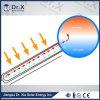 calefator solar de câmara de ar de vácuo 100L para o uso do banho