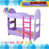 幼稚園のための子供の二重層の木のベッド