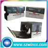 Auriculares virtuais Google Cardboard de Reality 3D Glasses (verion 2)