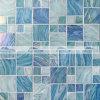 плитка мозаики квадратного смешивания 48&23mm голубая плавя стеклянная (BGZ003)