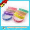 Fashion personalizzato Popular Silicone Bracelet per Festival, Party