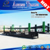 2 Axles Single Tires Hydraulic 8units Car Transporter Semi Trailers
