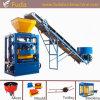 Machine de fabrication de brique automatique de vibro de moteur de Qt4-24b