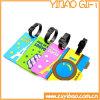 선전용 품목 (YB-t-003)를 위한 PVC 수화물 레이블 꼬리표