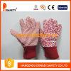 Малыши/перчатки Childredn. Красные многоточия на ладони (DGK121)