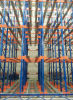 Doppelventilkegel Pallet Racking System in Storage