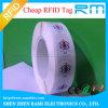 Tag 13.56MHz RFID da etiqueta Ntag213 de NFC para a E-Carteira