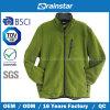 Зеленая приполюсная куртка ватки без клобука